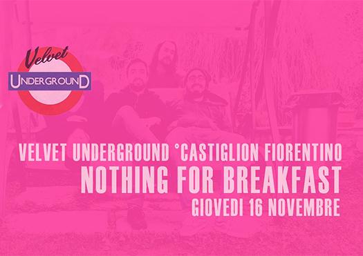nothing for breakfast - velvet underground
