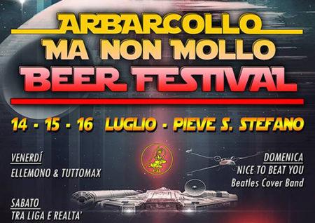 arbarcollo ma non mollo beer festival - pieve santo stefano