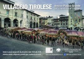 villaggio tirolese - piazza grande arezzo