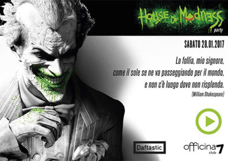 house of madness - officina 7