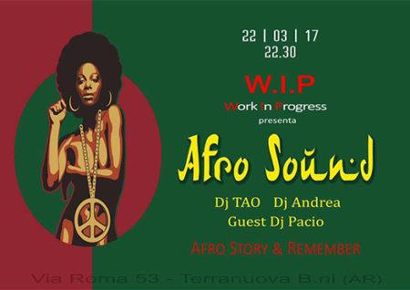 afro sound - wip terranuova