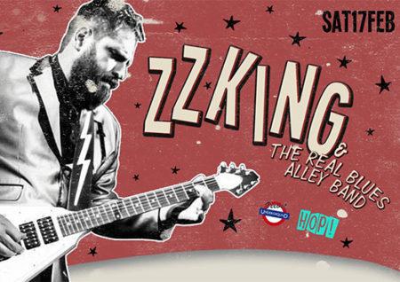 hop party zz king - velvet underground