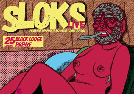 sloks - black lodge - firenze