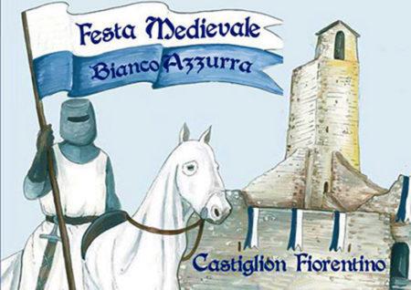 festa medievale biancazzurra - castiglion fiorentino