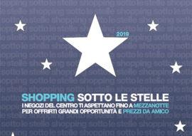 shopping sotto le stelle - arezzo