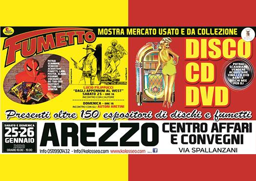 arezzo comics