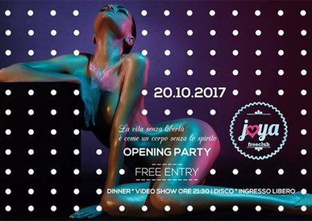 opening night - joya arezzo