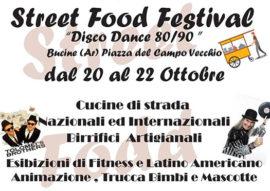 street food festival - bucine