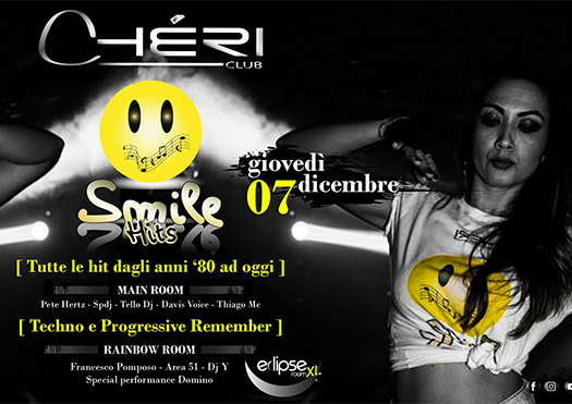 smile hits remember - chéri club montepulciano