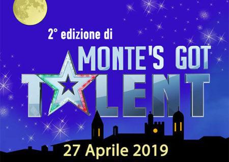 monte's got talent - monta san savino