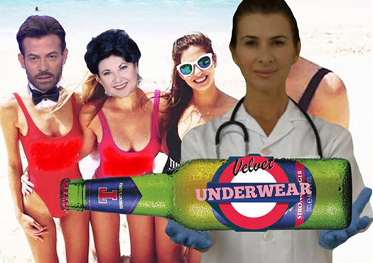 velvet underwear trash party - velvet underground