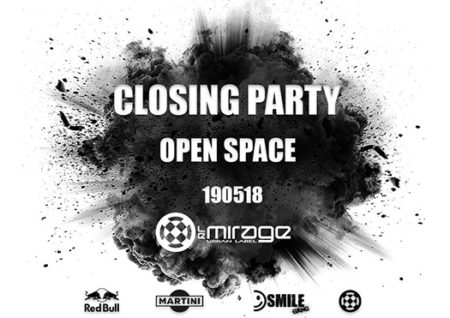 closing party open space - le mirage