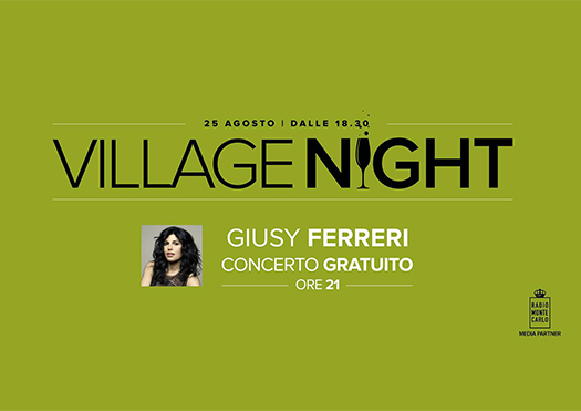 village night giusy ferreri - valdichiana outlet