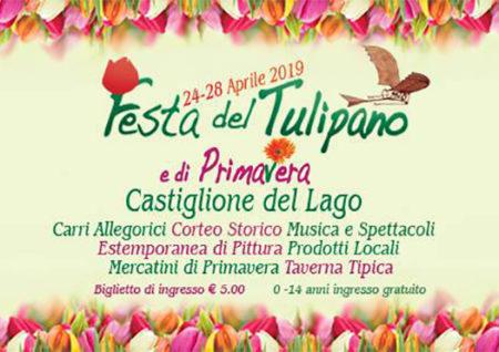 festa del tulipano e di primavera - castiglione del lago