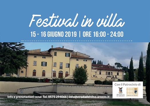 festival in villa - arezzo