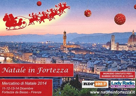 Natale in fortezza a Firenze