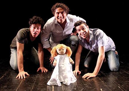 tre uomini e una culla - teatro rifredi