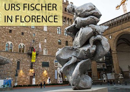 urs fischer - piazza della signoria