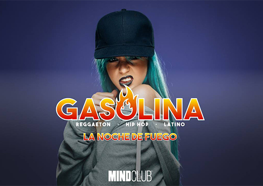 gasolina la noche de fuego - mind club