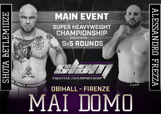 slam fighting mai domo - obihall