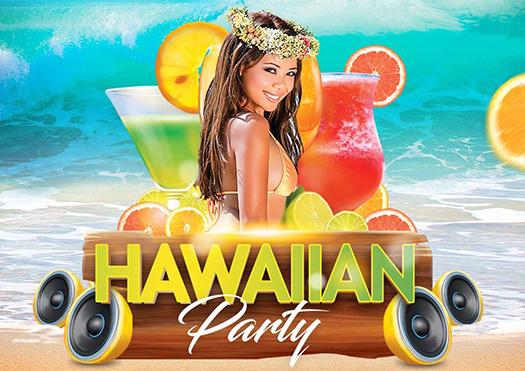 hawaiian party - atlantic pub