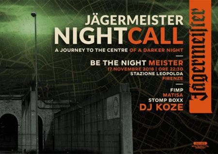 Jägermeister nightcall - stazione leopolda firenze