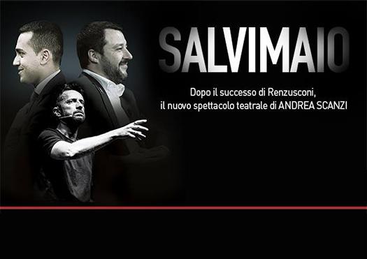 salvimaio - andrea scanzi - firenze