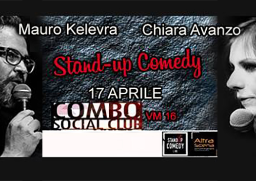 mauro kelevra - chiara avanzo - stand up comedy
